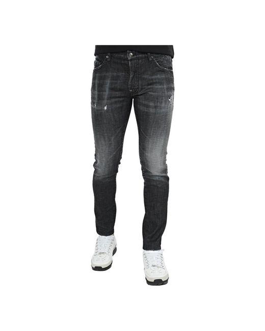 DSquared² Skater Jeans in het Black voor heren