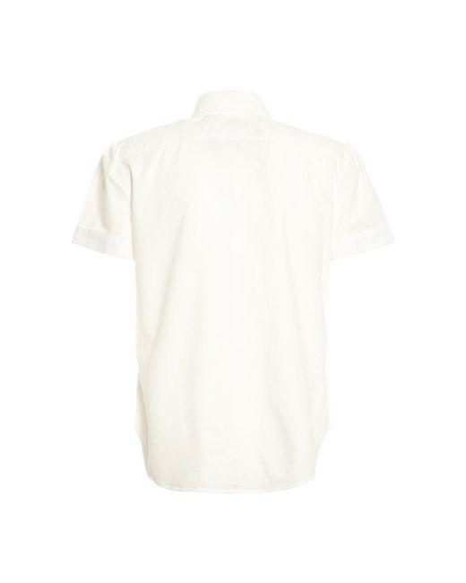 Camicia M/C Oxford Blanco Ralph Lauren de color White