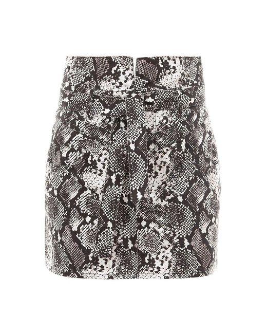 Skirt 202Wcs12El001 di The Attico in Gray da Uomo