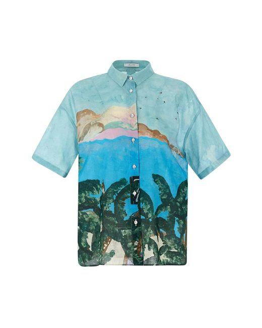 Fantasy Shirt iBlues en coloris Blue