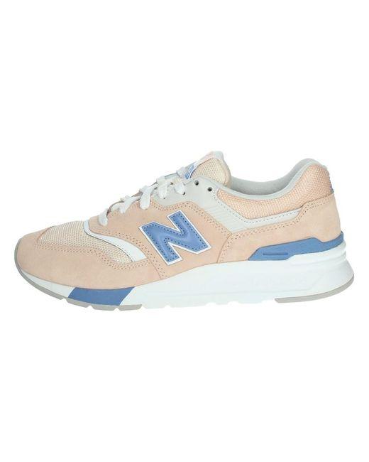 New Balance Cw997hvw Sneakers in het Pink