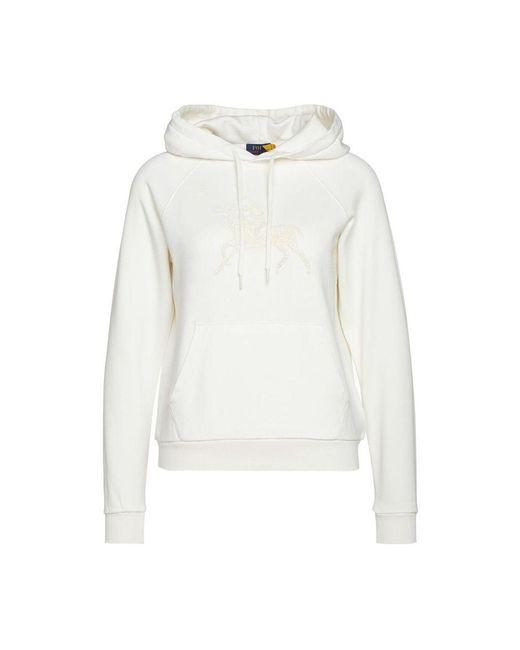 Ralph Lauren Hoodie 211 827881 11 in het White