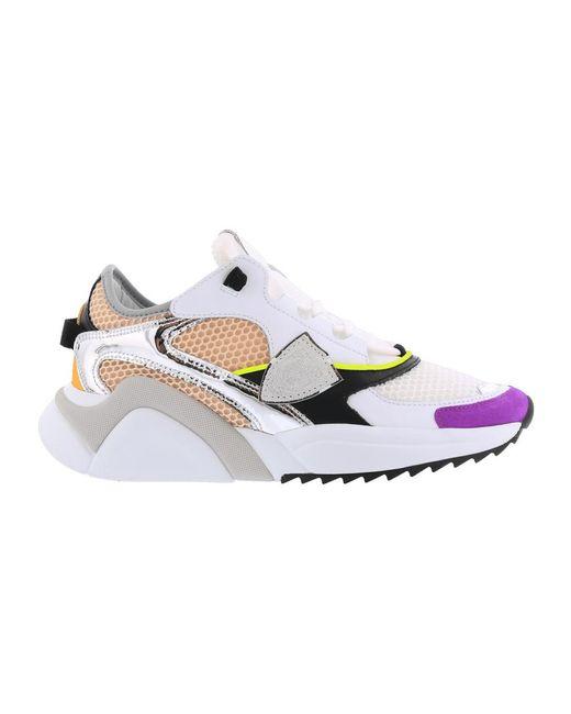 Sneakers basse Eze di Philippe Model in White da Uomo