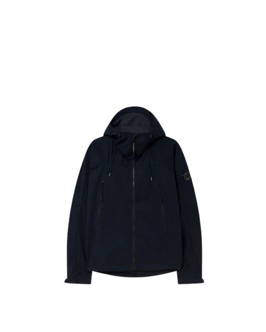 Rain Jacket di C P Company in Blue da Uomo
