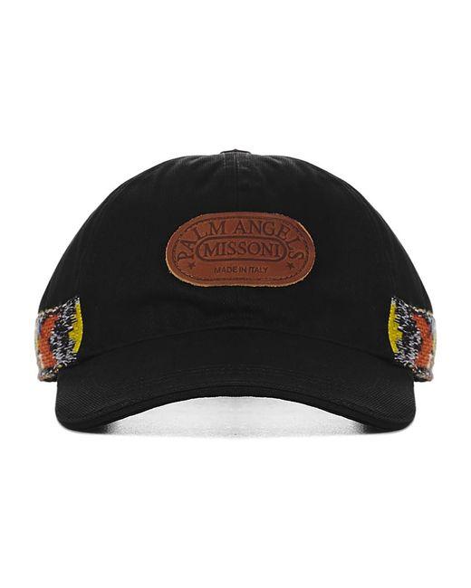 Palm Angels Hat in het Black voor heren
