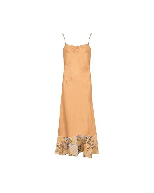 Pinko Sukienka Giardiniera in het Yellow