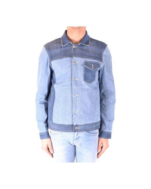 Jacket di DIESEL in Blue da Uomo