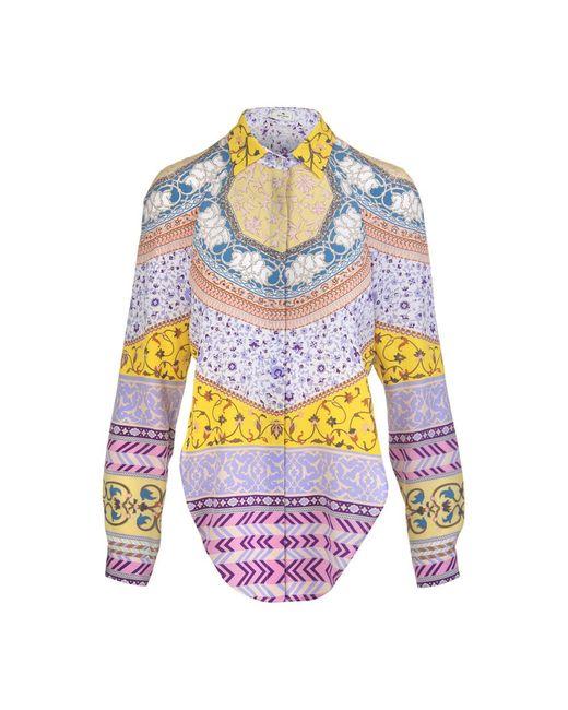 Etro Shirt in het Multicolor
