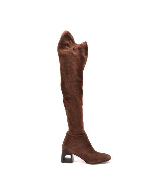 Vic Matié Boots in het Brown