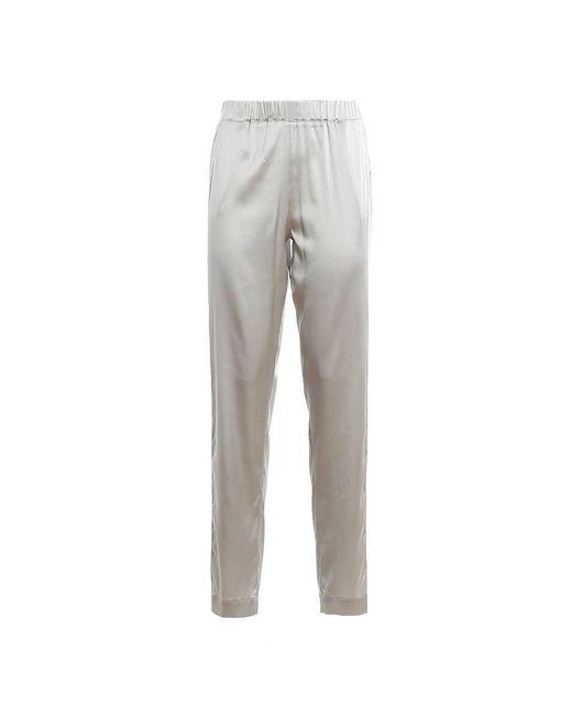 Side Band Trousers di Paolo Fiorillo Capri in White