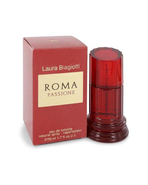 Laura Biagiotti Roma Passione Eau De Toilette Spray in het Red