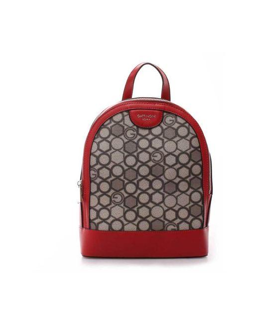 Gattinoni Backpack Bentk78 121 in het Red