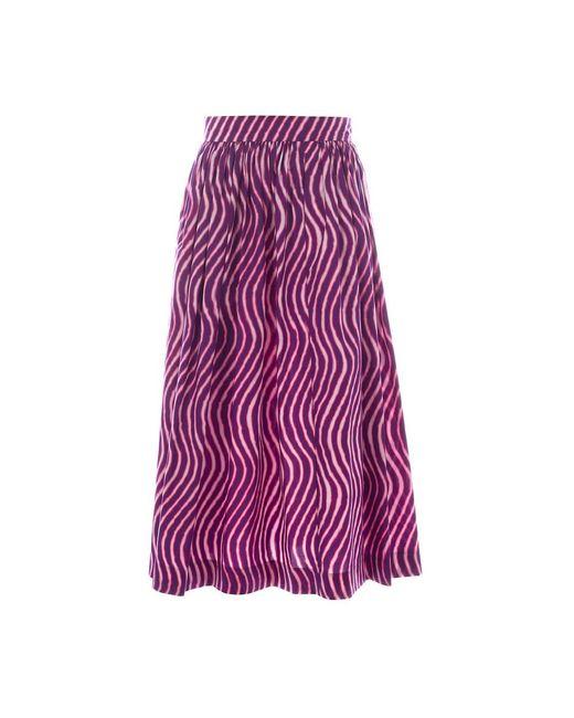 Skirt di Dries Van Noten in Purple