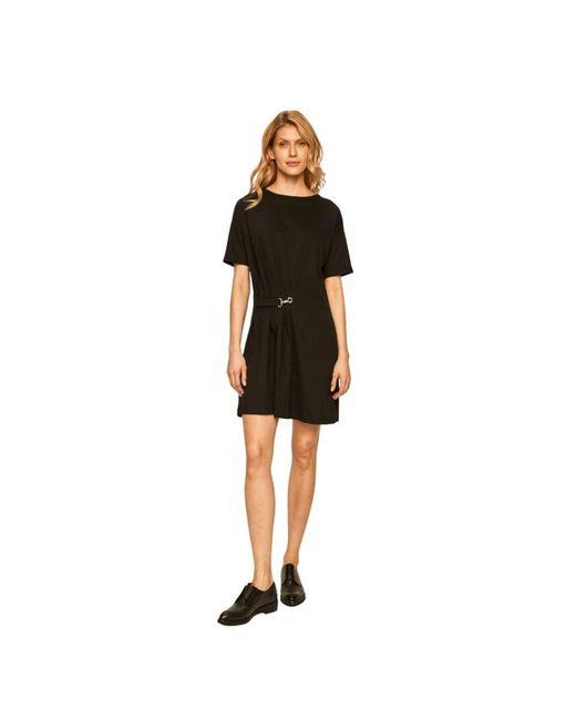Armani Exchange Dress in het Black
