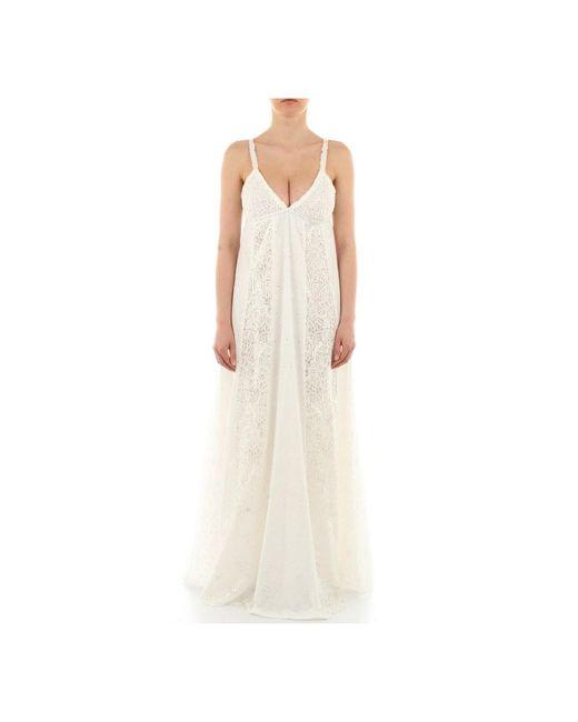 1G15Yb-Y6Wv Dress Pasquale Bruni en coloris White