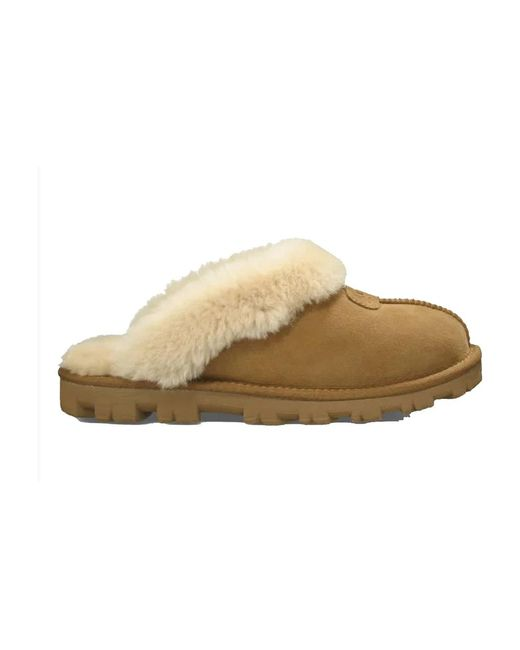 Ugg Pantoffels Camel in het Brown