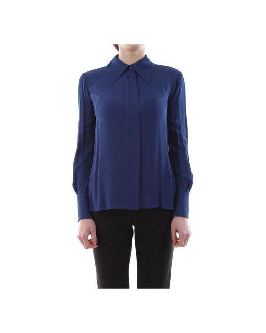 Elisabetta Franchi Blue Ca24501E2 Shirt Women Blu capri