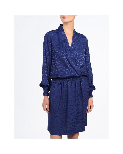 Vestido Azul summum woman de color Blue