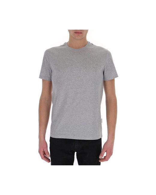T-shirt Gris Ballantyne de hombre de color Gray
