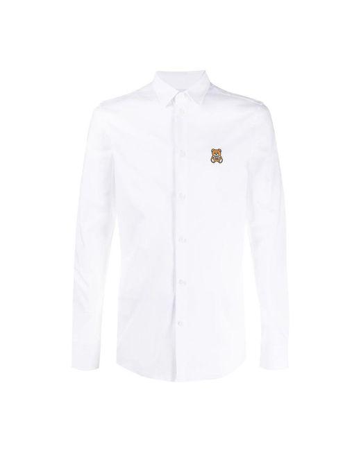 Shirt di Moschino in White da Uomo