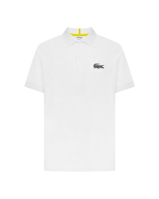 Lacoste Polo in het White voor heren