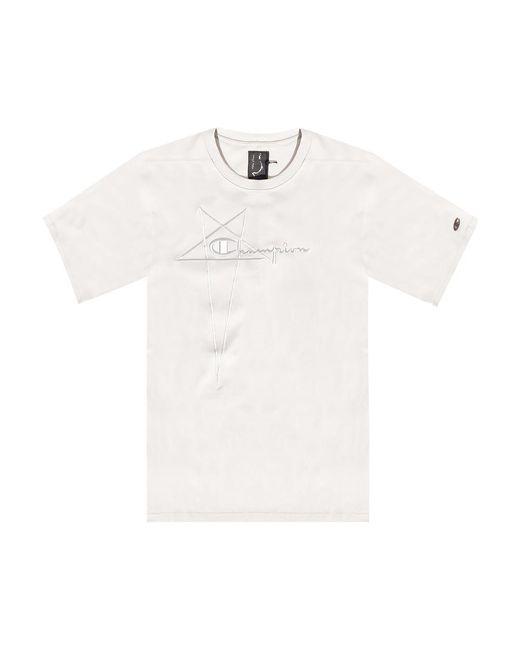 Rick Owens T-shirt in het Gray voor heren