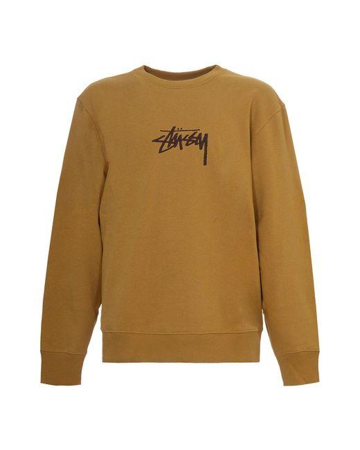 Stussy Sweatshirt in het Brown voor heren