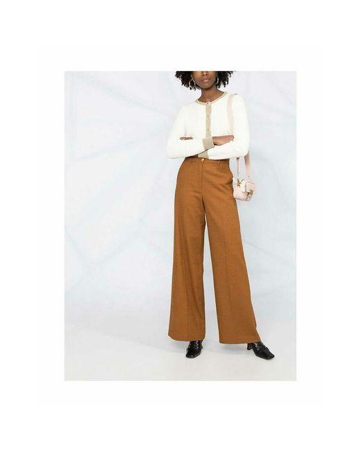 Pantalone Marrón Pinko de color Brown