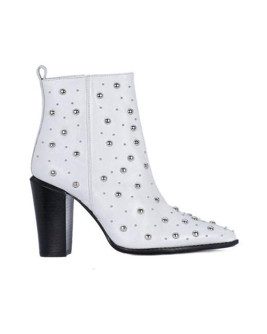 Bronx White Amerivanax Boots