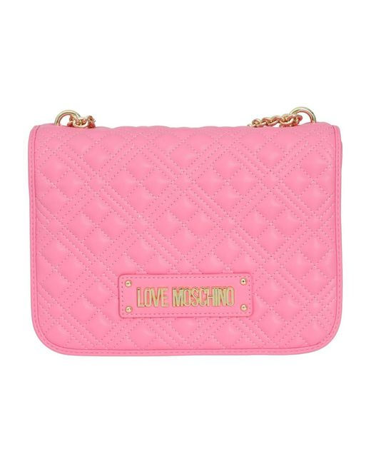 Bag di Love Moschino in Pink