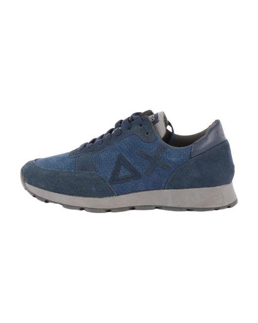 Sun 68 Z29113 Sneakers in het Blue voor heren