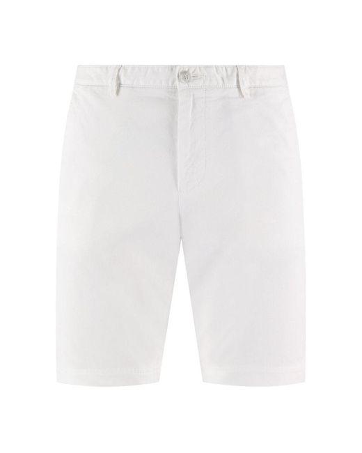 BOSS by Hugo Boss Slice-short Korte Broek in het White voor heren