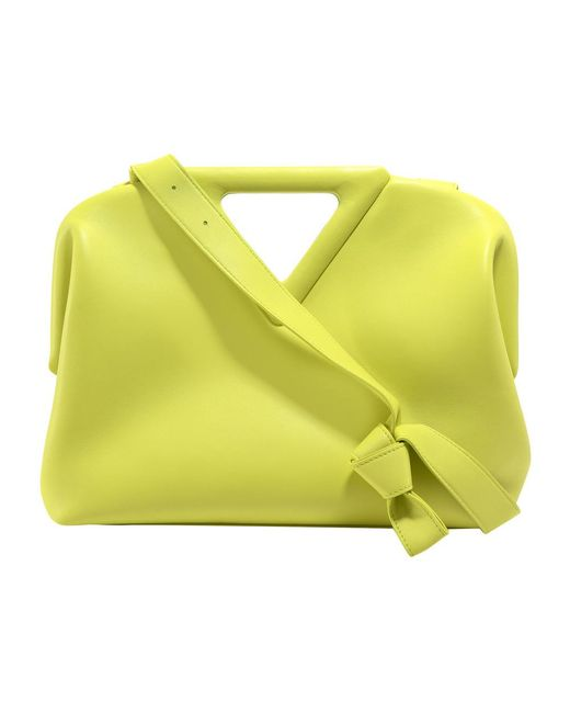 THE Triangle VIT Nappato Bag Bottega Veneta en coloris Green