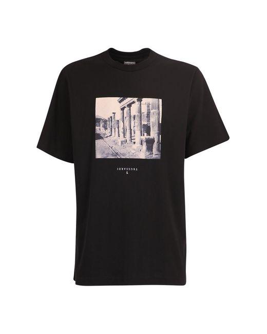Trussardi T-shirt in het Black voor heren