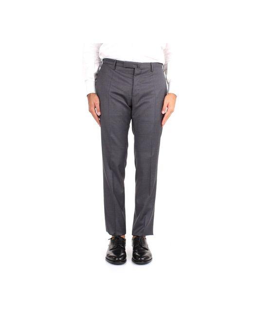 Incotex 1t0030 1393t Trousers in het Gray voor heren