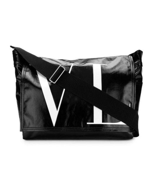 Valentino Garavani Borsa Messenger in het Black