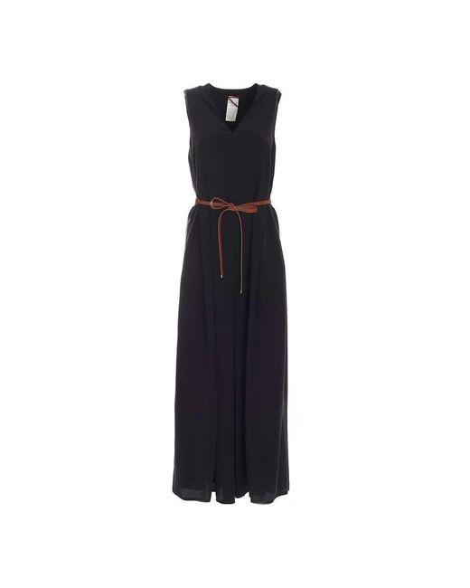 Max Mara Studio 62211111600 002 Dress in het Black