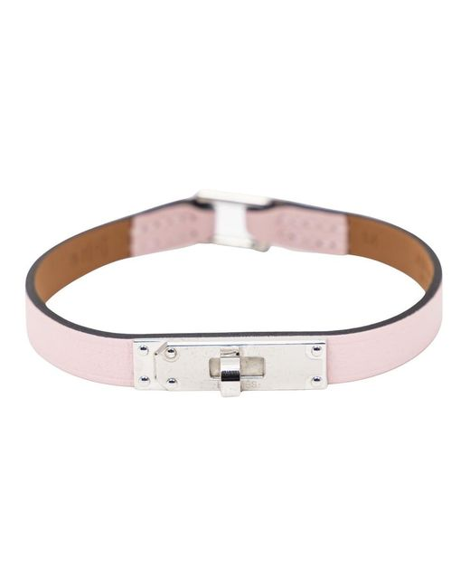 Bracelet Sakura Kelly Hermès en coloris Pink