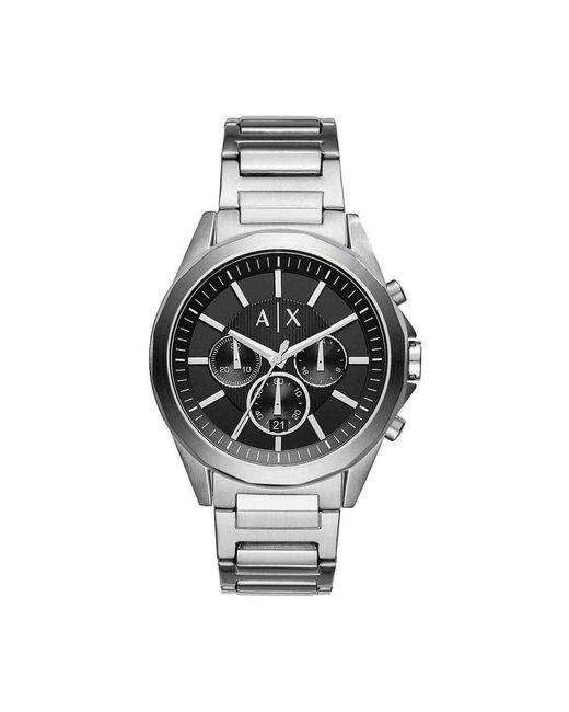 Armani Exchange Watch Ur - Ax2600 in het Gray voor heren