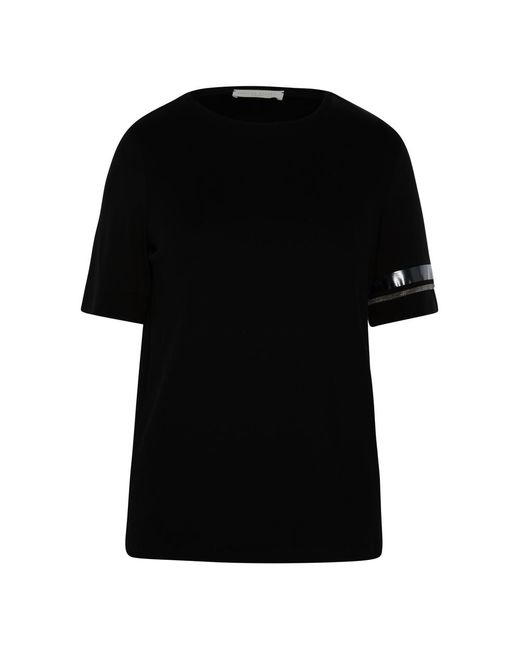 Fabiana Filippi Camiseta T-shirt in het Black