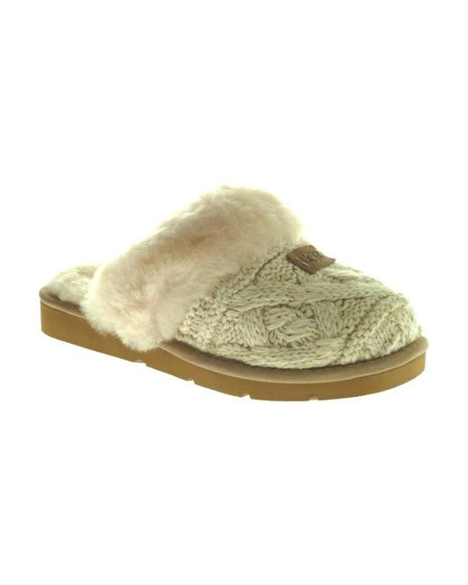 Ugg Cozy Cable 1019666 W/ Fawn in het Natural