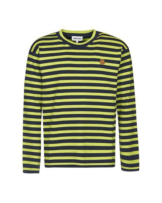 KENZO Sweater in het Green voor heren