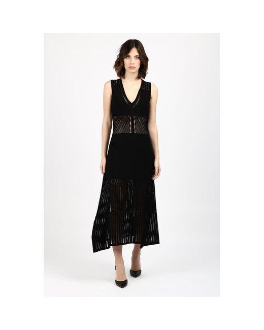 Vestido Negro Pinko de color Black