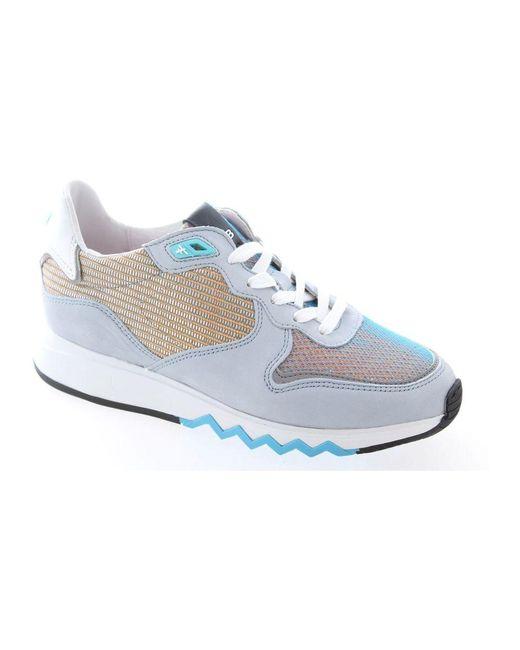 Floris Van Bommel Blue Barchon sneaker
