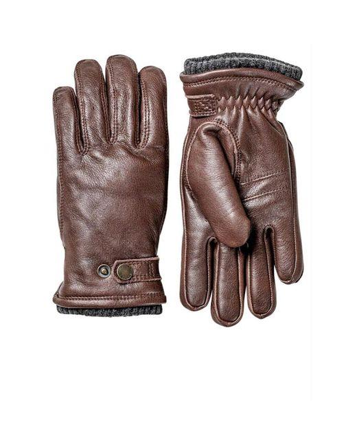 Des gants Hestra pour homme en coloris Brown