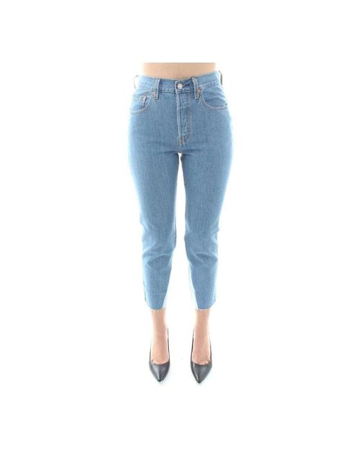 Levi's Jeans in het Blue