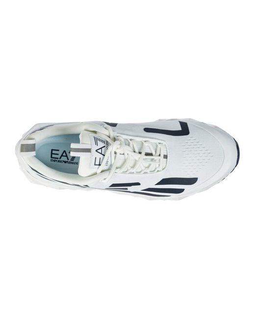 Men's shoes trainers sneakers Blanco EA7 de hombre de color White