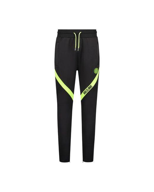 MALELIONS Sport Pre Match Trackpants in het Black voor heren