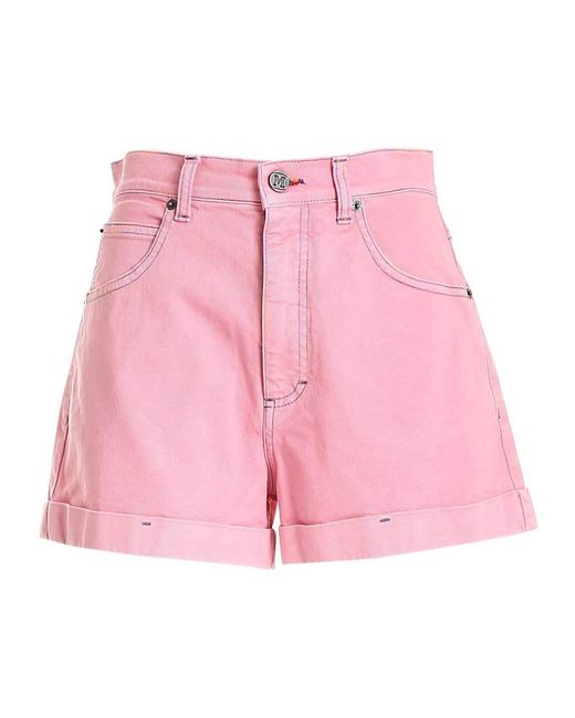 M Missoni Shorts in het Pink