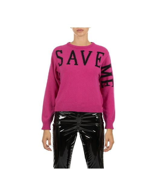 Alberta Ferretti Sweater in het Pink
